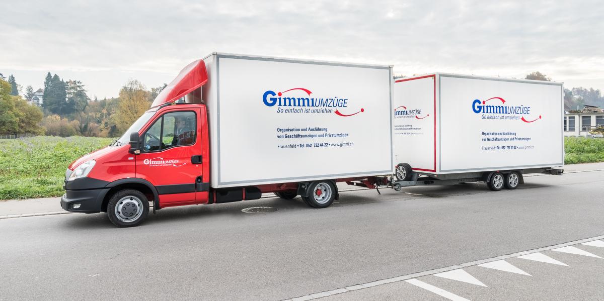 Gimmi Umzüge wird eine AG
